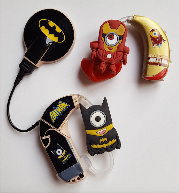 Mother Designs Amazing Hearing Aids For Kids Using Superheroes superhero3