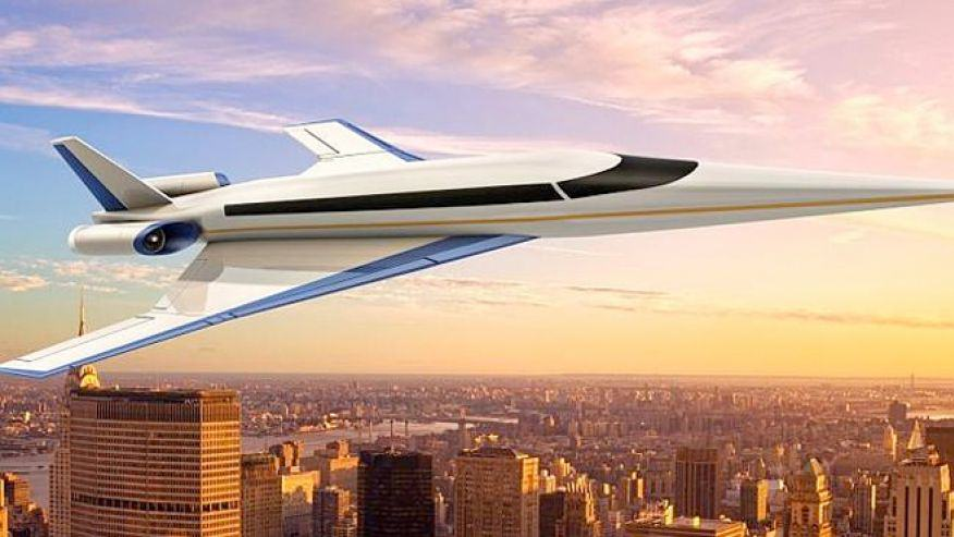 Supersonic Jet Could Get You From London To NYC In 3 Hours supersonic jet