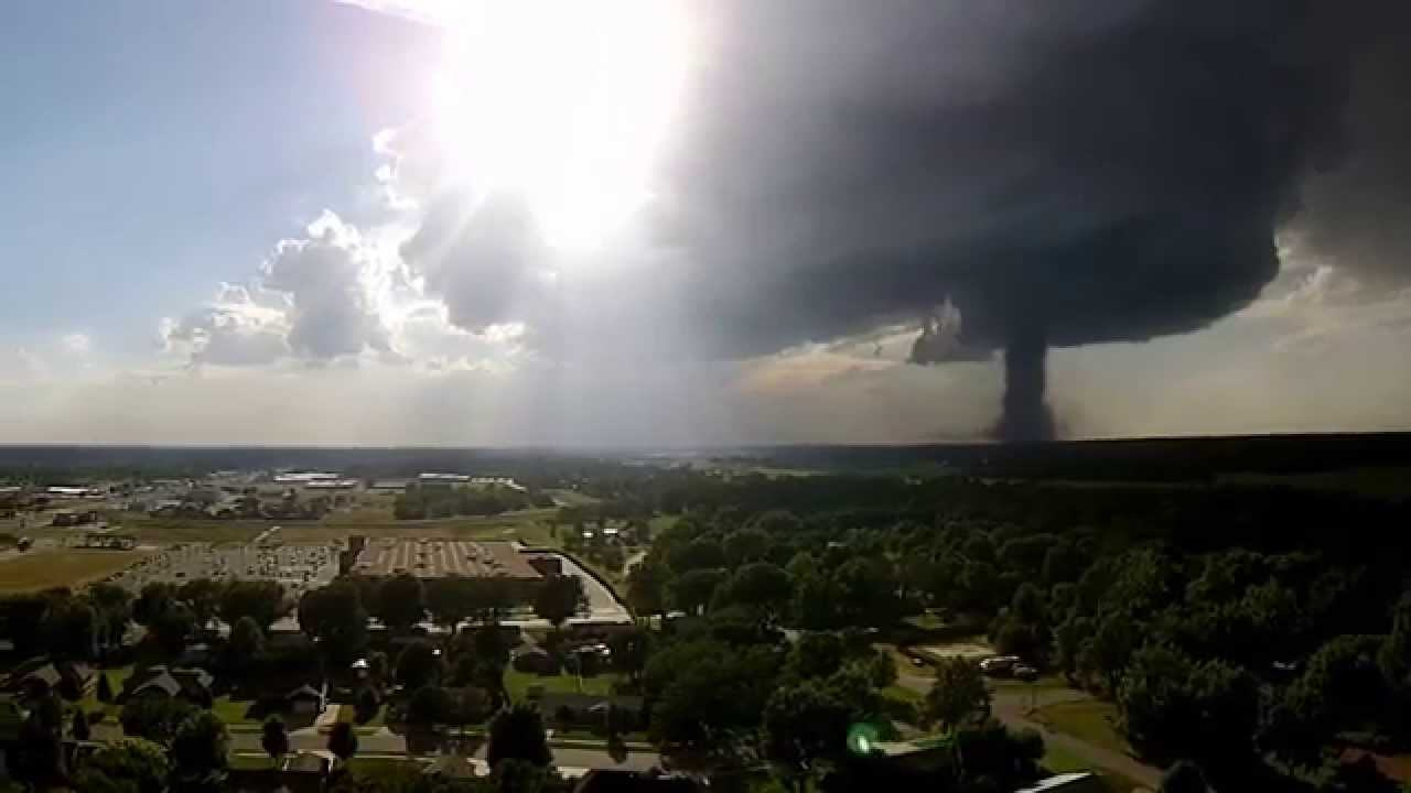 This Drone Footage Of A Tornado Is Pretty Terrifying tornado drone
