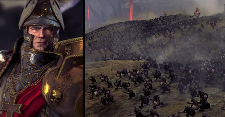Total War: Warhammer Release Brutal New In Engine Trailer totalwarfacebook
