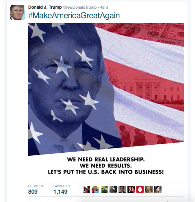 Donald Trump Tweets A Photo Of Nazi SS Soldiers trump tweet lol
