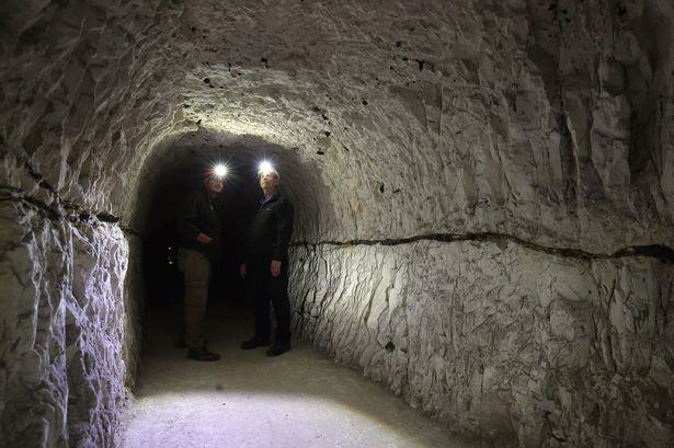 Take A Look Inside Churchills Secret Second World War Tunnels tunnels churchill 3