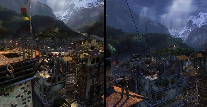 This Remastered Uncharted 2 Footage Is Insane unchartedfacebook