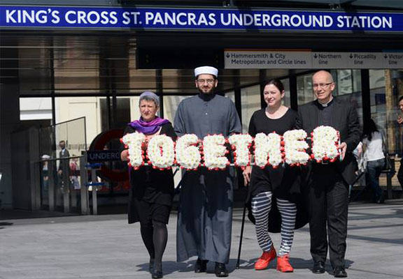 Londoners Walk Together In Memory Of The Victims Of The 7/7 Bombings walk together WEB1
