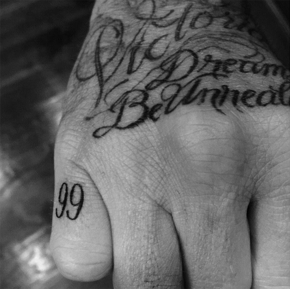 Beckham Opens Up About What All His Tattoos Actually Mean BxTHNItmL