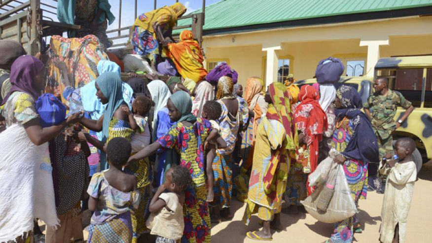 Nigerian Army Rescues 178 People From Terrorist Group Boko Haram EqrGeK2MDboko haram rescue 2.jpg