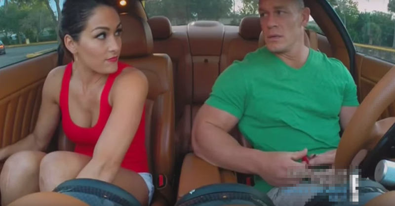 John Cena And His Girlfriend Are Seriously Competitive LSMWCDO9K