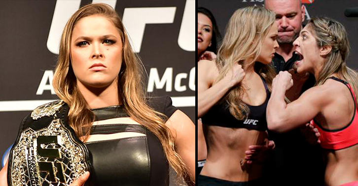 Emotional Ronda Rousey Vows To Make Bethe Correia Suffer For Mocking Her Fathers Suicide NhjdOnYtDrousey correia FB.jpg