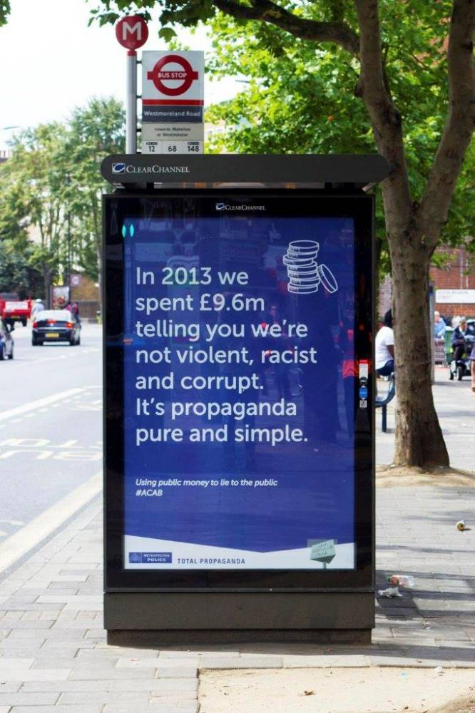 Anarchists In London Are Trolling Scotland Yard With Anti Police Posters O0RLc6E7f