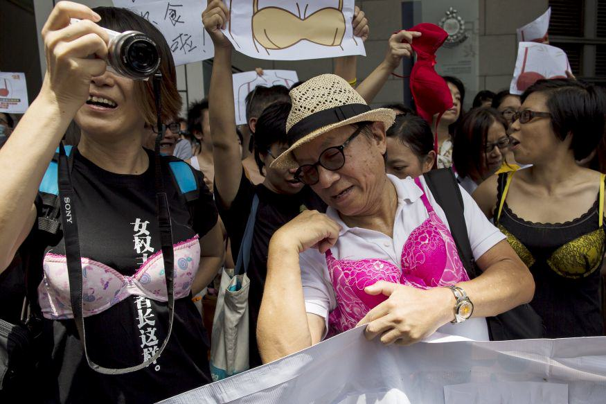 Men In Hong Kong Are Protesting While Dressed In Lingerie QHPNOcdGpbra protest 2.jpg