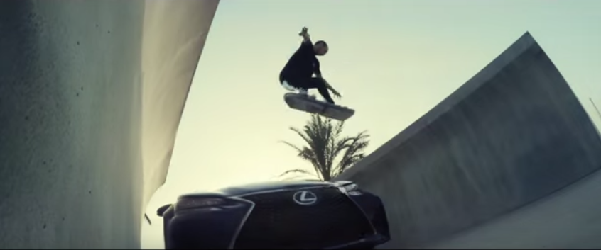Lexus Reveal Footage Of Their Hoverboard In Action QorF19kDS