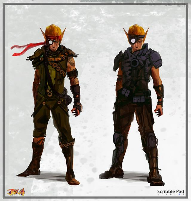 Artwork For Naughty Dogs Gritty Jak And Daxter 4 Emerges Online QvAQbDLfTjak and daxter 4 artwork pieces 3.jpg