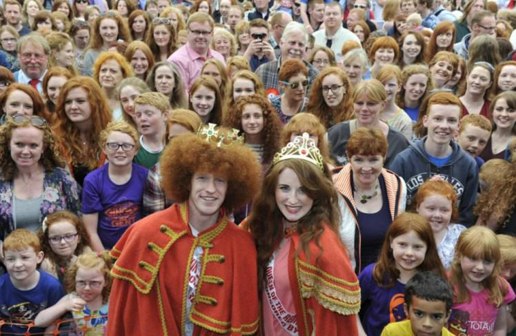 2000 Redheads Attend A Ginger Convention To Celebrate Everything Orange UNILAD 138