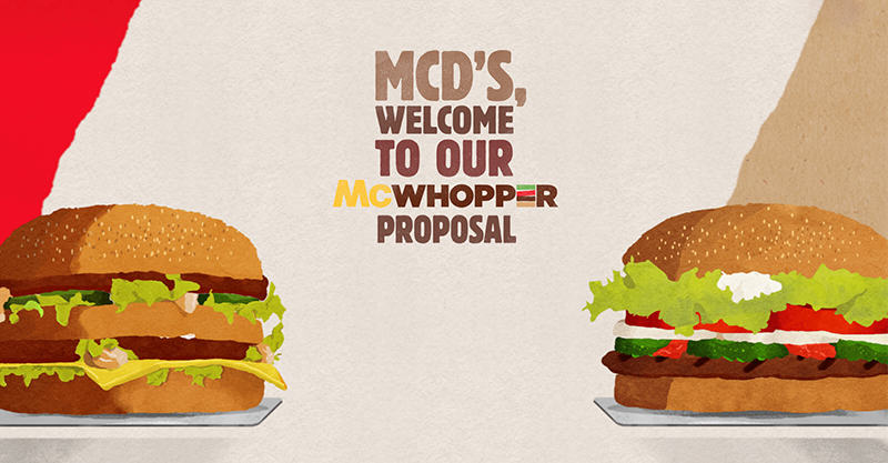 Burger King Propose Truce With McDonalds To Make The McWhopper UNILAD 146