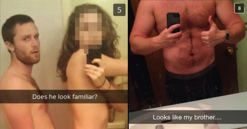 Cheating Girlfriend Snapchats Boyfriend, Accompanied By His Brother UNILAD 154