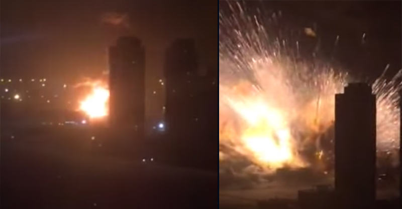 New Footage Of The Tianjin Explosion May Be Most Dramatic Yet UNILAD 16