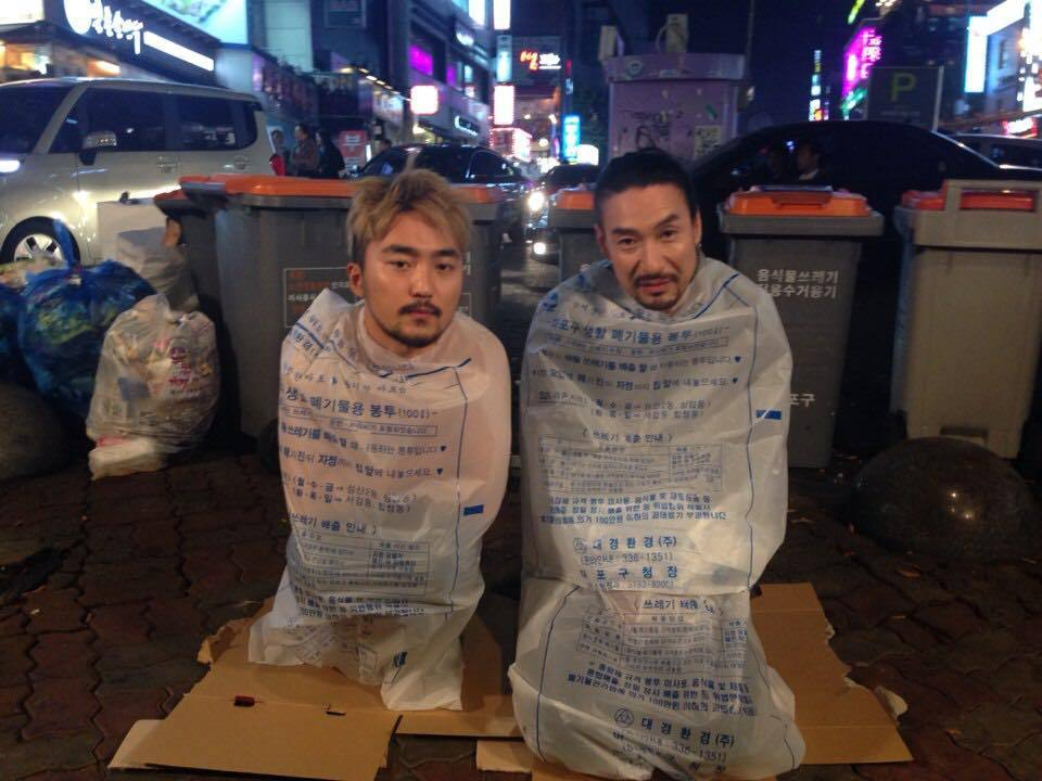 The New Fashion Trend In Asia... Wearing Nothing But Plastic Bags UNILAD 1712