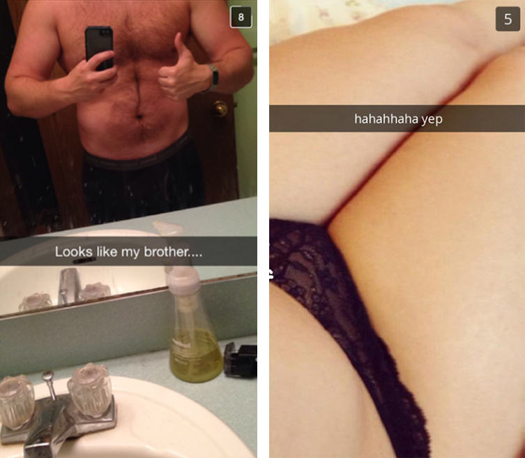 Cheating Girlfriend Snapchats Boyfriend, Accompanied By His Brother UNILAD 231
