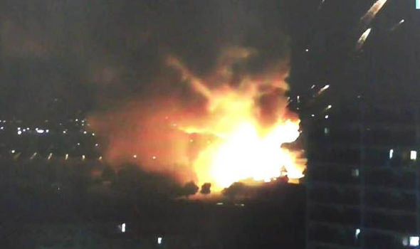 Huge Explosion At Arms Depot Sends Fireballs Into The Sky In Tokyo UNILAD 28