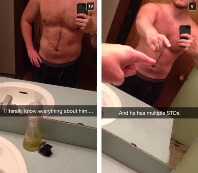 Cheating Girlfriend Snapchats Boyfriend, Accompanied By His Brother UNILAD 38