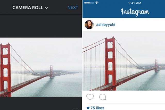 Instagram Update To Finally Allow Landscape And Portrait Photos UNILAD 428n 1 web5 640x426