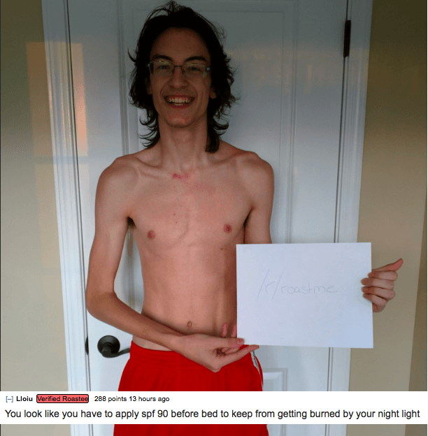 More People Get Brutally Roasted On Reddit As RoastMe Goes Viral UNILAD 55d7b89a1c9c36