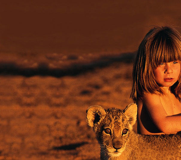 These Awesome Photos Show A Little Girl Who Is Basically The Real Life Mowgli UNILAD 5E84kgQ6