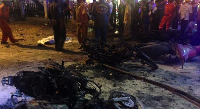 Video Of Bomb Going Off In Central Bangkok   At Least 12 Confirmed Dead UNILAD AFP8