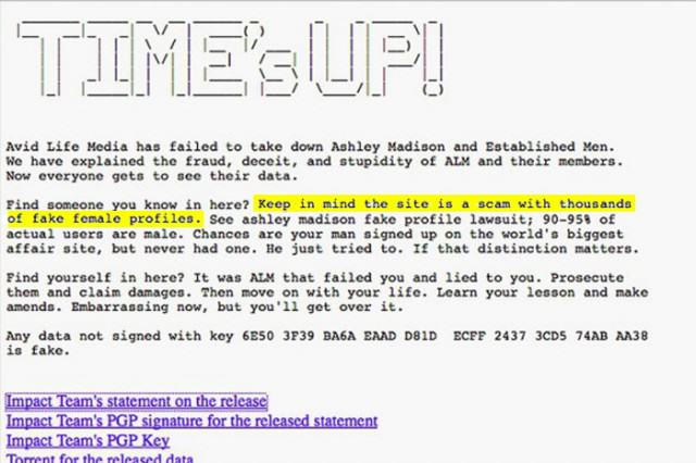 Cheating Website Ashley Madison Turns Out To Be A F*cking Sausage Fest UNILAD Ashley15 640x426