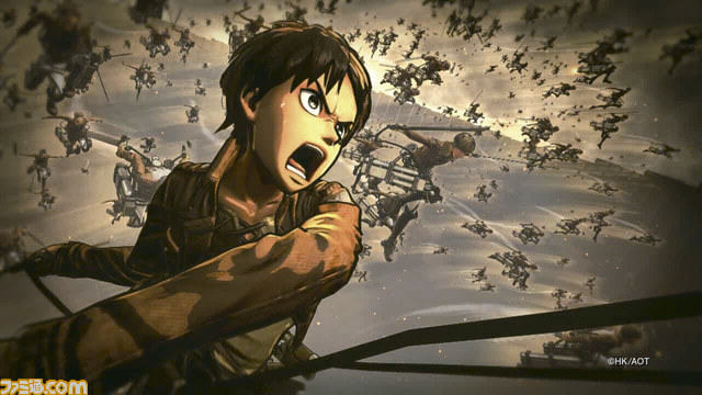 Upcoming Attack On Titan Game Gets Preview And Stunning New Screenshots UNILAD Attack on Titan Fami shot 08 19 15 0013