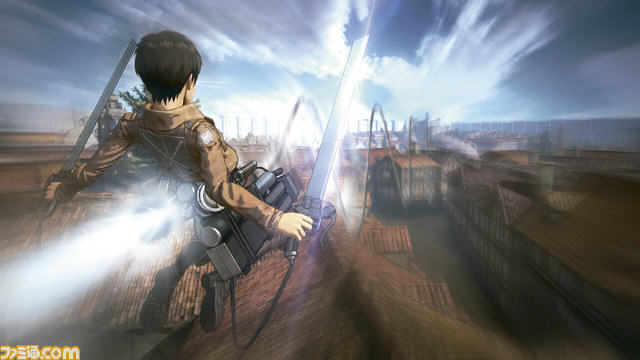 Upcoming Attack On Titan Game Gets Preview And Stunning New Screenshots UNILAD Attack on Titan Fami shot 08 19 15 0023
