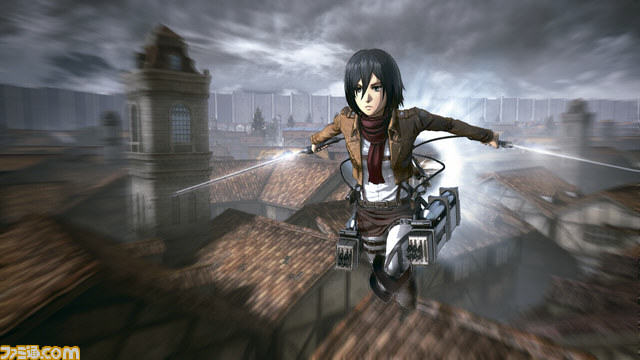 Upcoming Attack On Titan Game Gets Preview And Stunning New Screenshots UNILAD Attack on Titan Fami shot 08 19 15 0035