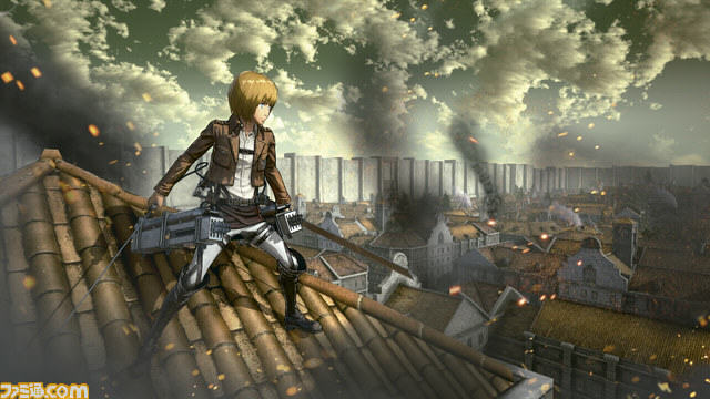 Upcoming Attack On Titan Game Gets Preview And Stunning New Screenshots UNILAD Attack on Titan Fami shot 08 19 15 0048