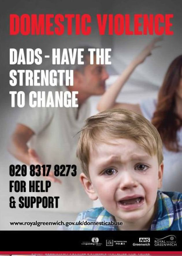 Activist Dads Removed From Station By Police After Defacing 'Sexist' Posters UNILAD G council 15