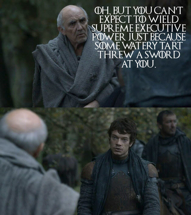 These Game Of Thrones Moments With Quotes From Monty Python Are Amazing UNILAD Jamie Jones BuzzFeed HBO 24
