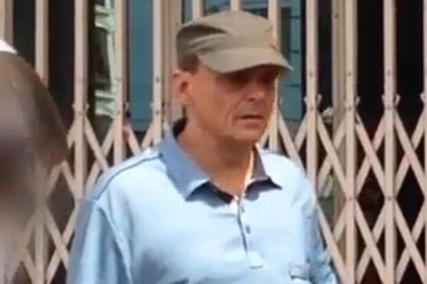 British Paedophile Locked Up After Being Pictured Holding 11 Year Olds Hand UNILAD Michael Jones photograhed in Cambodia2