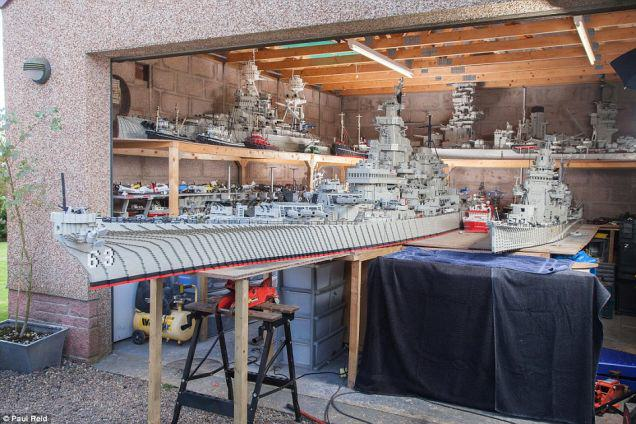 A Fisherman Spent Three Years Building A 24 Foot Long Lego Boat UNILAD One7