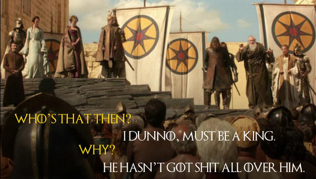 These Game Of Thrones Moments With Quotes From Monty Python Are Amazing UNILAD Robin Edds BuzzFeed HBO 37