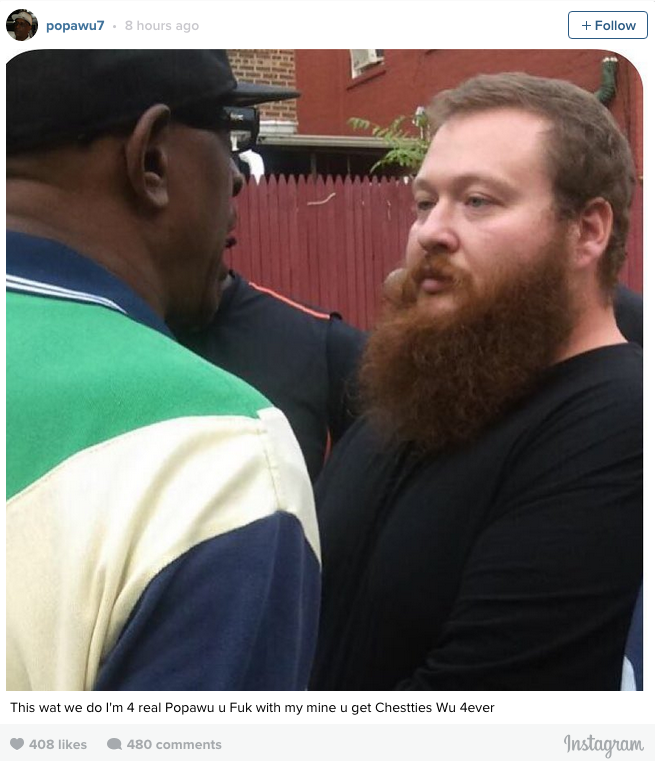 Wu Tang Clan Affiliate Popa Wu Confronts Action Bronson UNILAD Screen Shot 2015 08 12 at 10.50.554