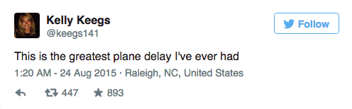 Couple Dramatically Break Up On Plane, Whole Thing Is Live Tweeted UNILAD Screen Shot 2015 08 24 at 12.00.497
