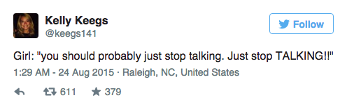 Couple Dramatically Break Up On Plane, Whole Thing Is Live Tweeted UNILAD Screen Shot 2015 08 24 at 12.01.398