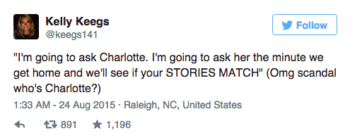 Couple Dramatically Break Up On Plane, Whole Thing Is Live Tweeted UNILAD Screen Shot 2015 08 24 at 12.01.442