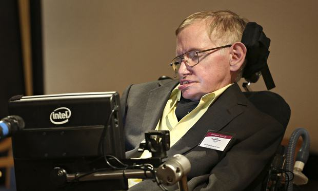 Stephen Hawking Predicted End Of World Weeks Before He Died UNILAD Stephen Hawking talks to 0125