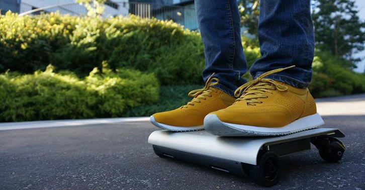 The WalkCar Is Like A Segway Crossed With A Skateboard UNILAD TN16