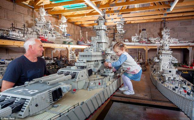 A Fisherman Spent Three Years Building A 24 Foot Long Lego Boat UNILAD Three4