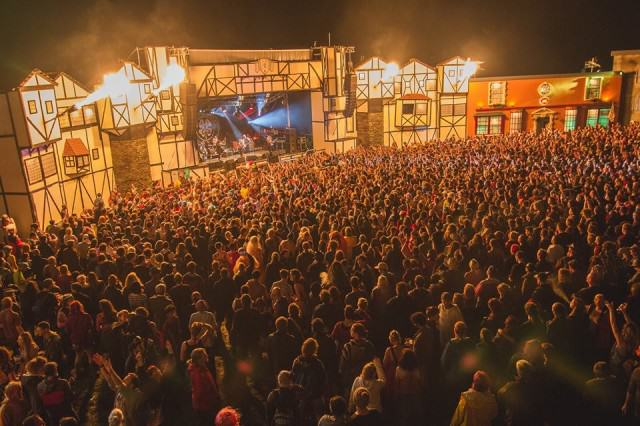 Is Boomtown Fair The Maddest Festival On Earth? UNILAD Town centre5 640x426