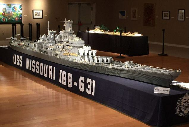 A Fisherman Spent Three Years Building A 24 Foot Long Lego Boat UNILAD Two6 636x426