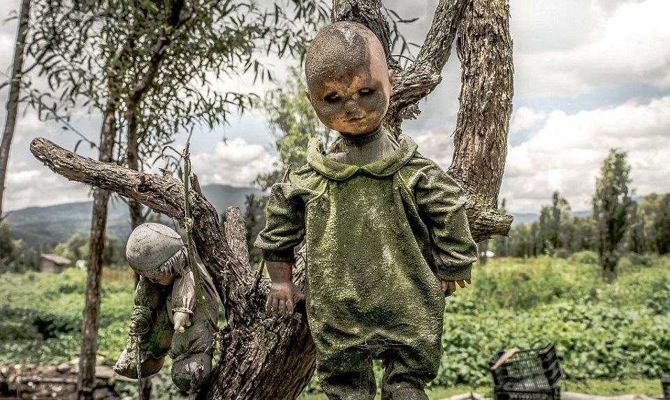 These Photos From Mexico's Haunted 'Island Of The Dolls' Are Extremely Creepy UNILAD WcHrS9NmxJvQa