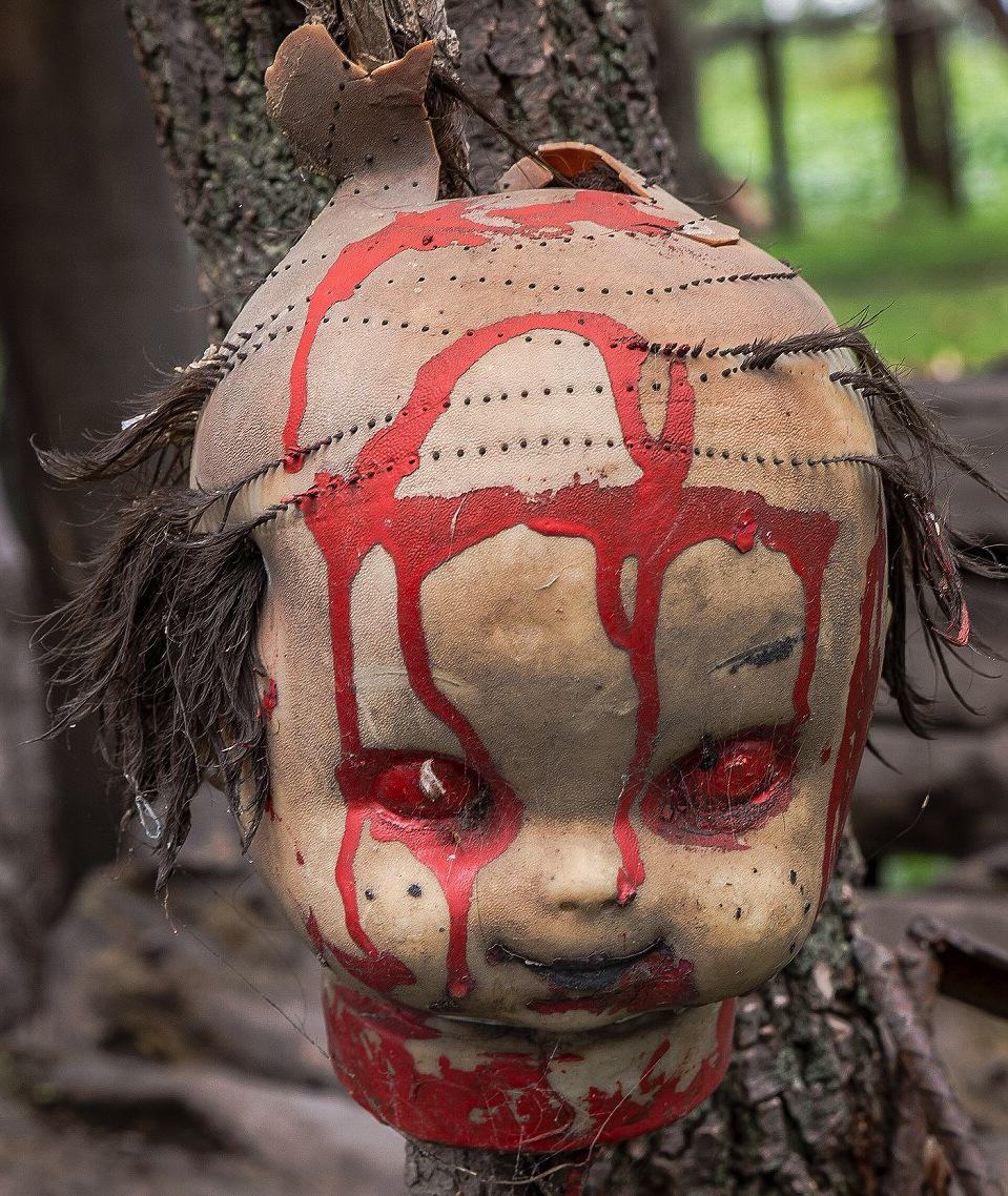 These Photos From Mexico's Haunted 'Island Of The Dolls' Are Extremely Creepy UNILAD X6huHcQjL