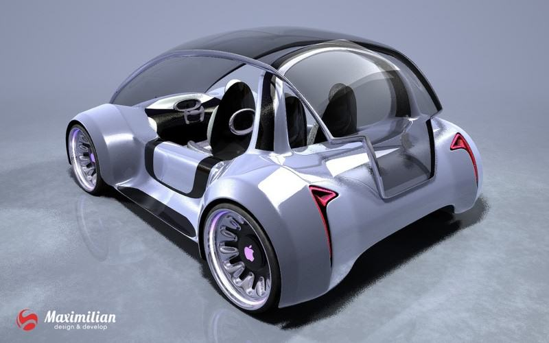Heres What Apples Self Drive Car Could Look Like UNILAD apple car 34